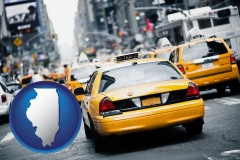 illinois New York City taxis