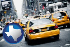 texas New York City taxis